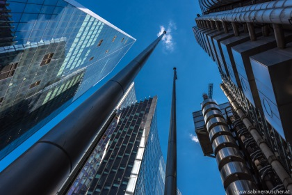 Modern Architecture in London´s Financial District | Wolkenkratzer im Herzen Londons