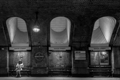 famous Baker Steet, Tube Station in London | U-Bahnstation Baker Street in London