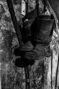 old working boots   alte Arbeitsstiefel