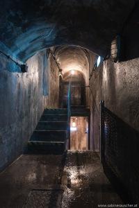 Stairwell down the sewage water system   Stiegenbereich in der Kanalisation