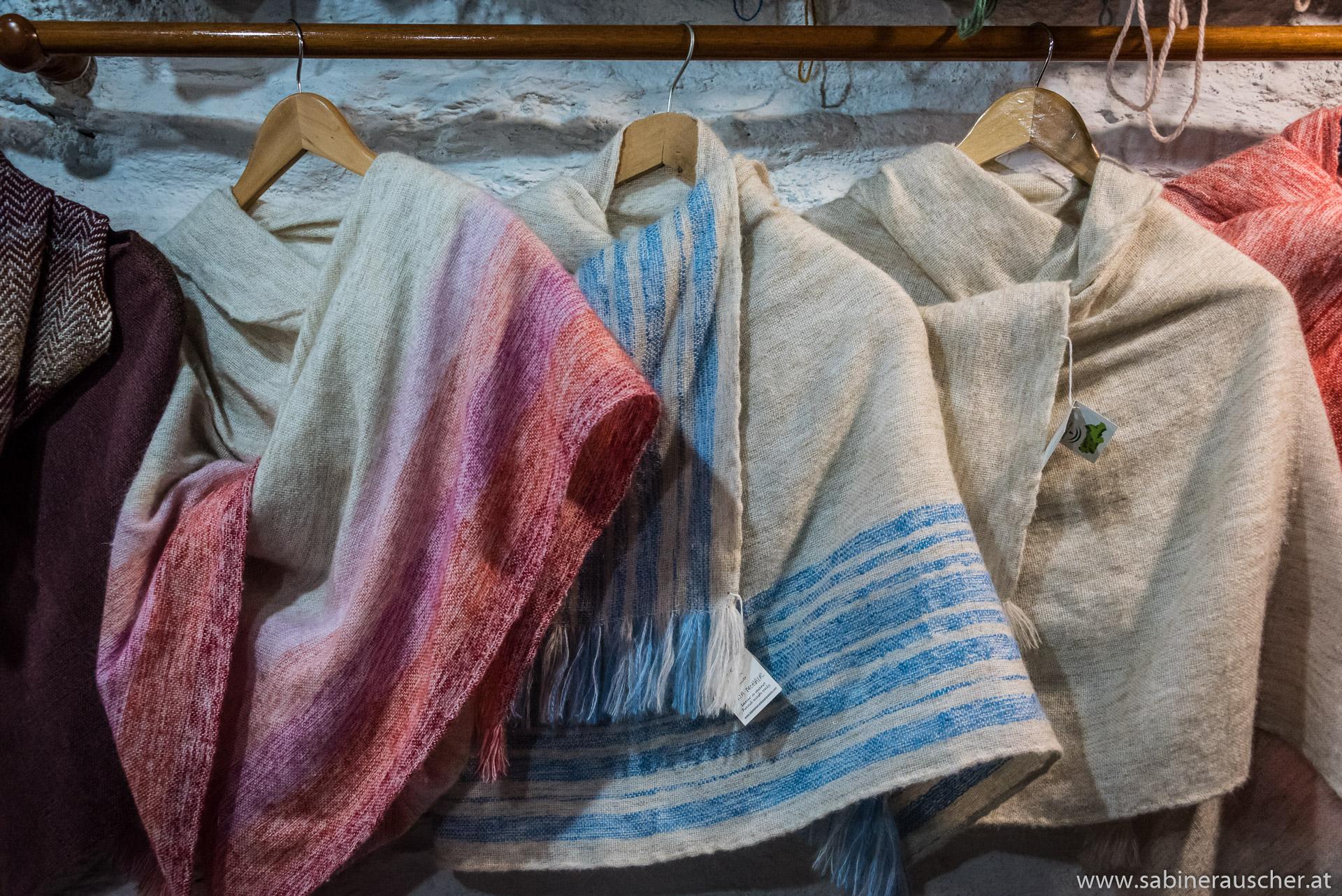 weaving mill in Pampaneira | Weberei in Pampaneira