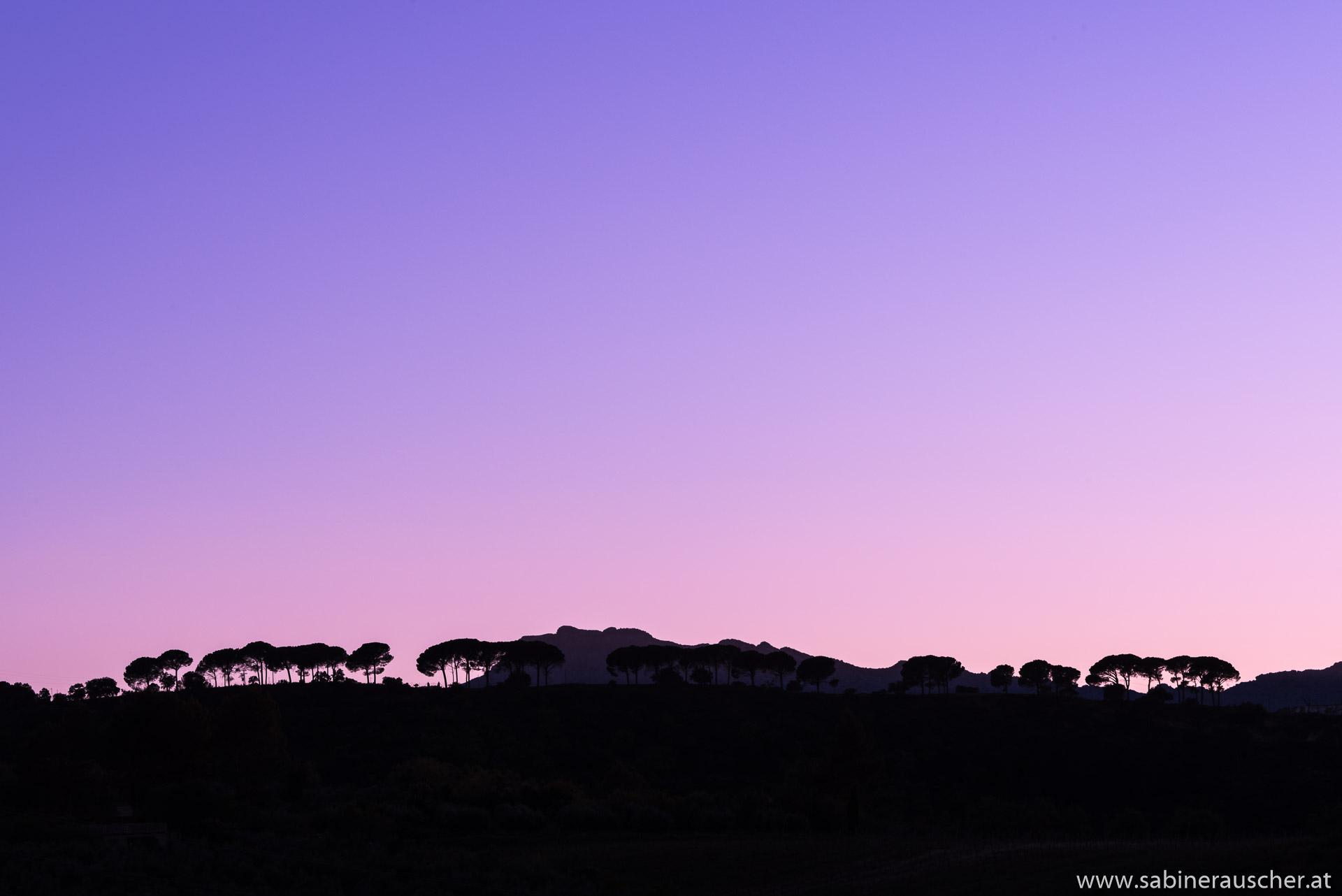 Sunset near Ronda | Abendstimmung bei Ronda