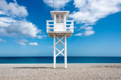at the beach of Calahonda | am Strand von Calahonda