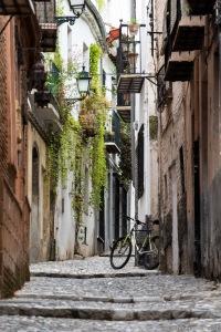 another alley in the old town of Granada | eine von vielen schmalen Gassen der Altstadt von Granada