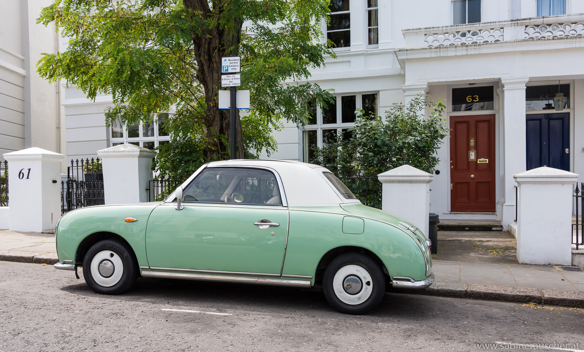 Oldtimer in Notting Hill