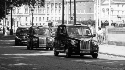 cab in London´s City Center | London´s Taxis
