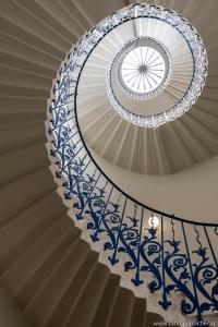 Queen´s House Tulip Staircase | Spiralstiege im Queen´s House in Greenwich