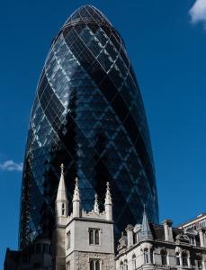 The Gherkin | Alt und Neu in London