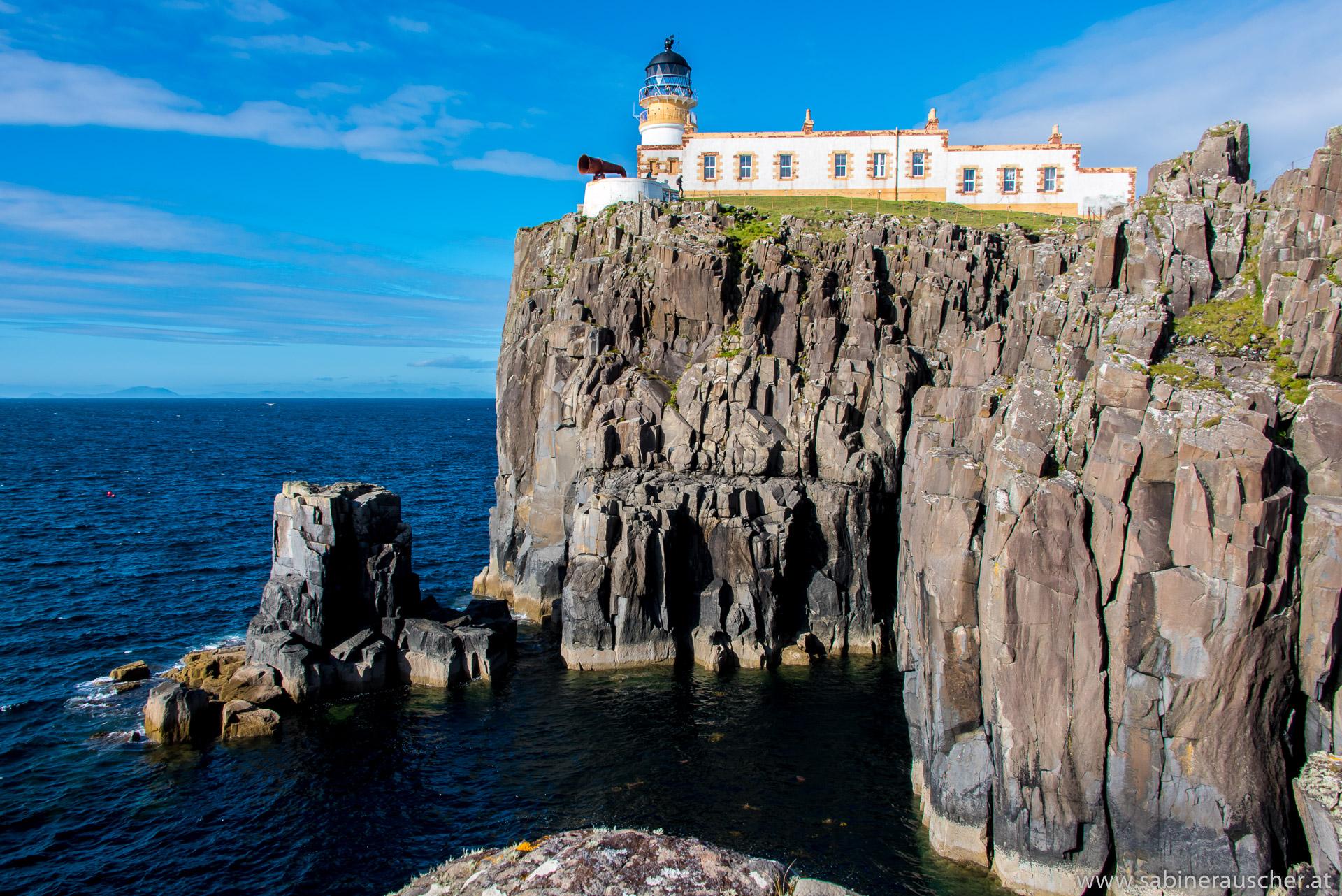 Lighthouse at Neist Point, Isle of Skye | Leuchtturm am Neist Point
