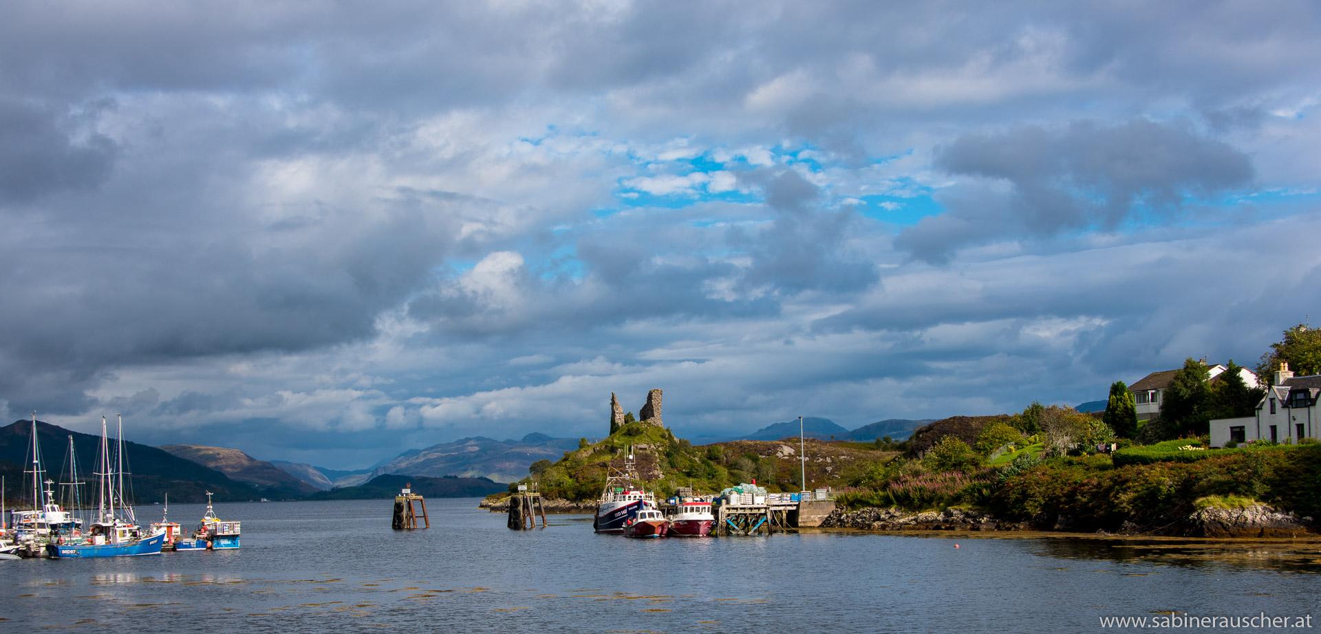 Castle Moil in Kyleakin, Isle of Skye