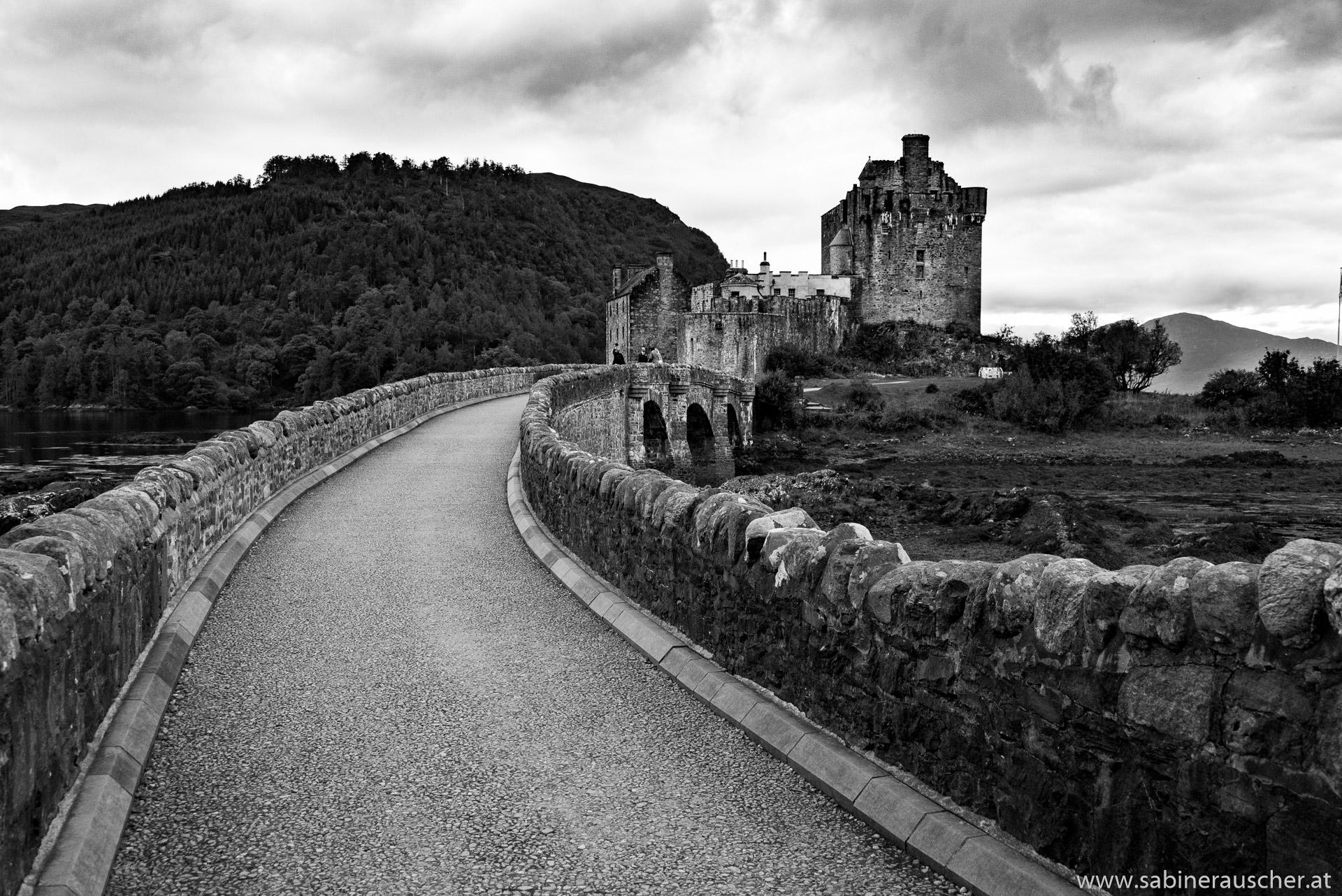 Eilean Donan Castle in Dornie at Loch Alsh, Isle of Skye