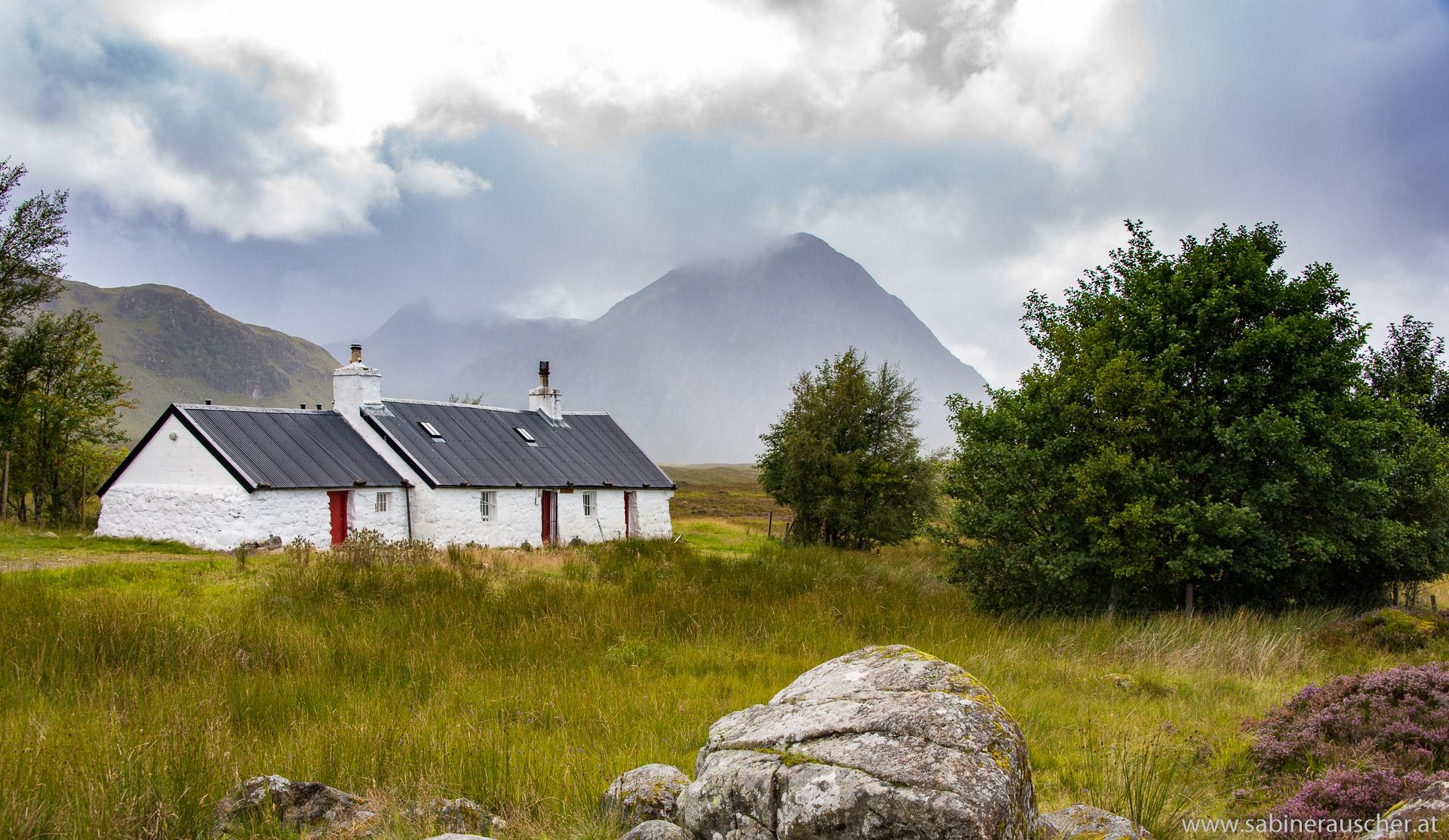 Blackrock Cottage in Glen Coe