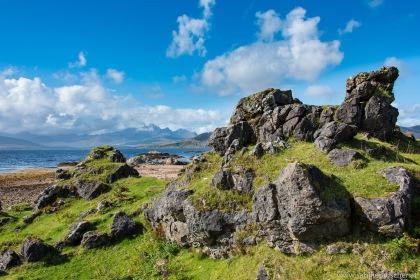 Southeast of Isle of Skye | abseits der A851 im Südosten der Isle of Skye
