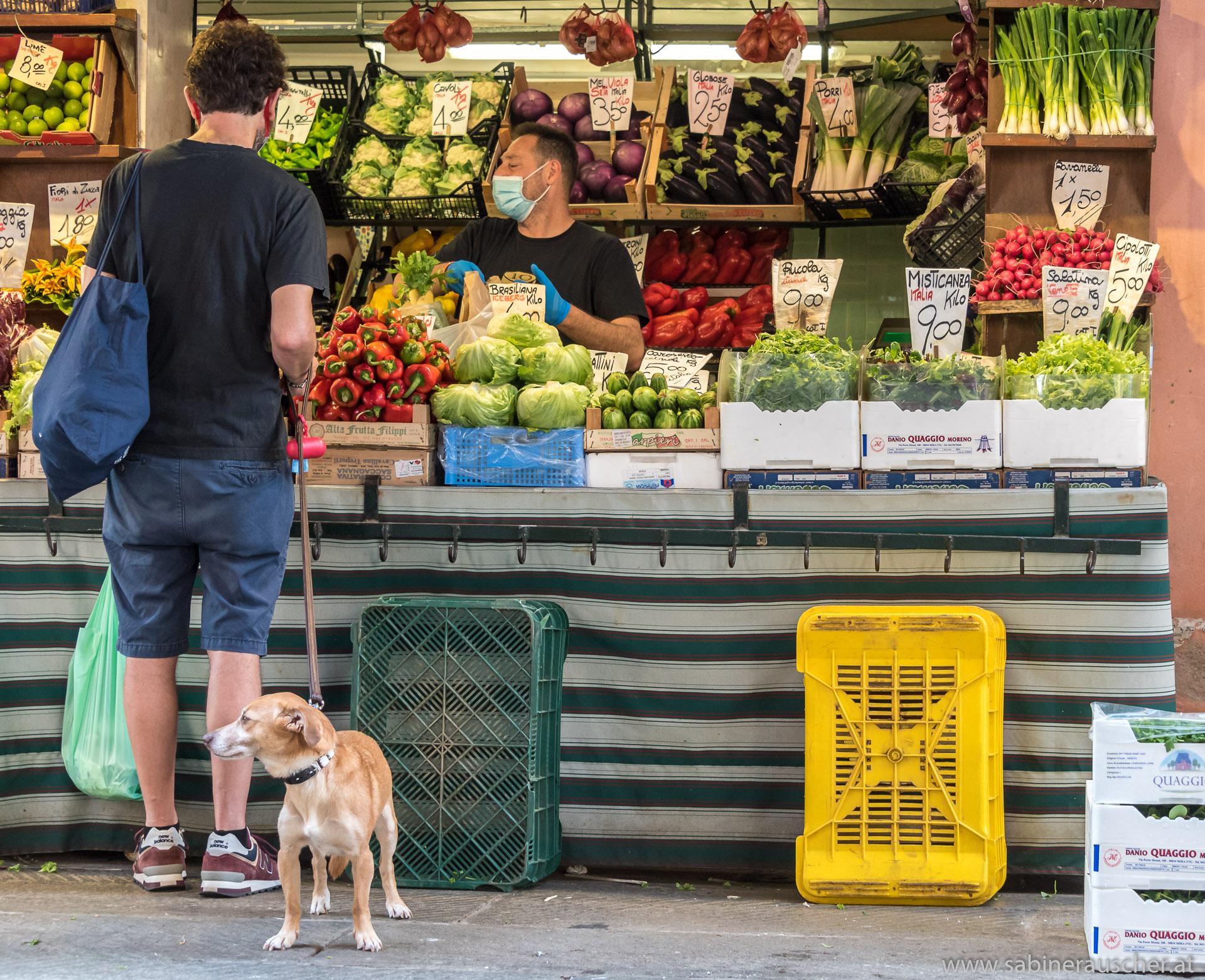 Venice - at the market | Venedig - morgens am Markt