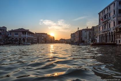 Venice - sunset at Canal Grande | Venedig - letzte Sonnenstrahlen auf den Canal Grande