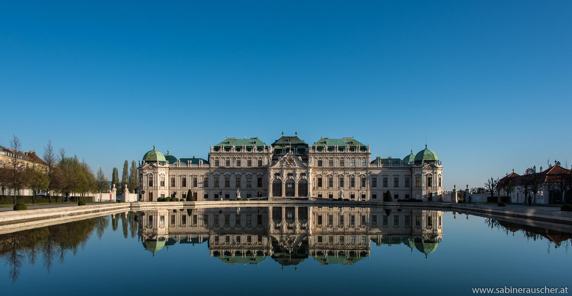Castle Belvedere in Vienna | Schloß Belvedere in Wien